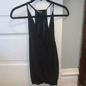 Black Wrap Tank from Urban Outfitters